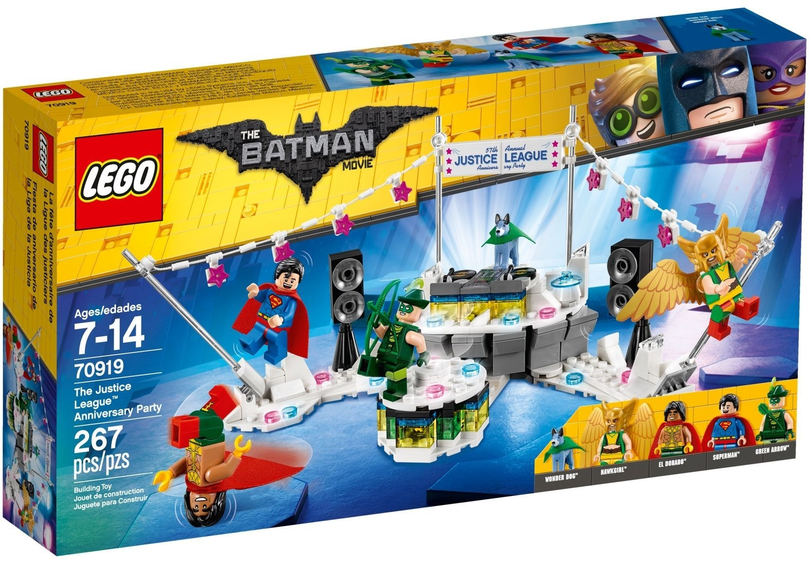 Lego The Justice League™ Anniversary Party